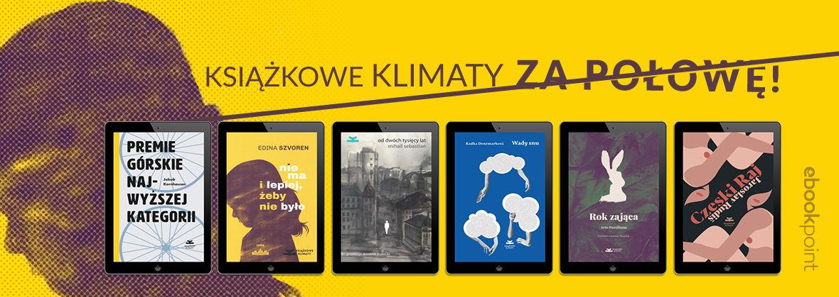 Promocja na ebooki Książkowe Klimaty [-50%]