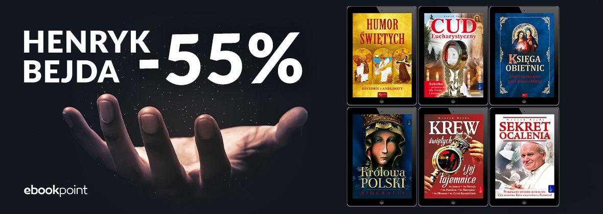 Promocja na ebooki Henryk Bejda / -55%