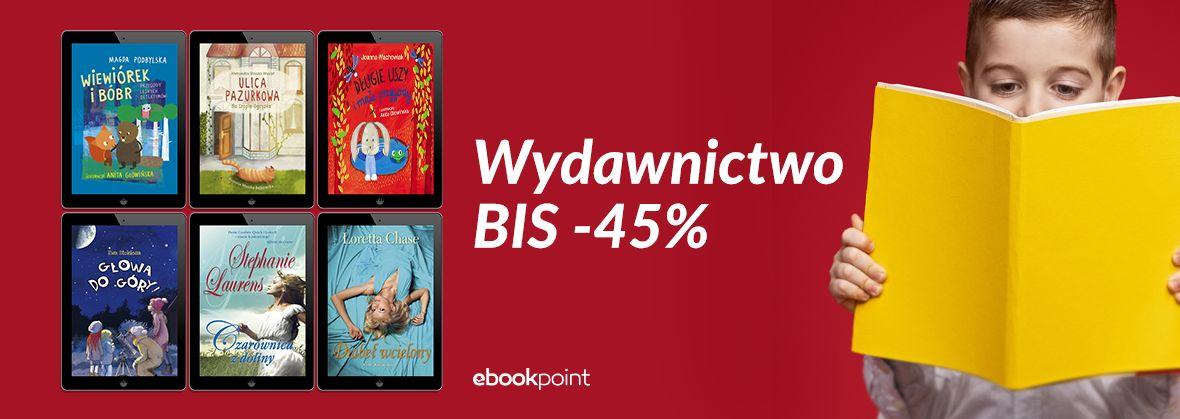 Promocja na ebooki Wydawnictwo BIS [-45%]
