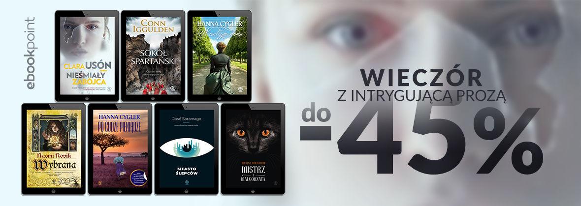 Promocja na ebooki Wieczór z intrygującą prozą / Wydawnictwo REBIS / do -45%