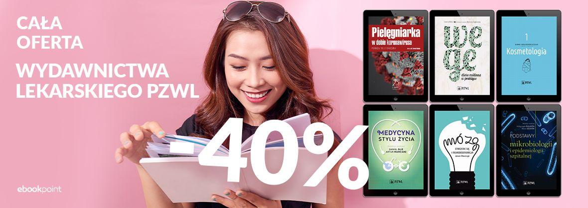 Promocja na ebooki Cała oferta Wydawnictwa Lekarskiego PZWL / -40%
