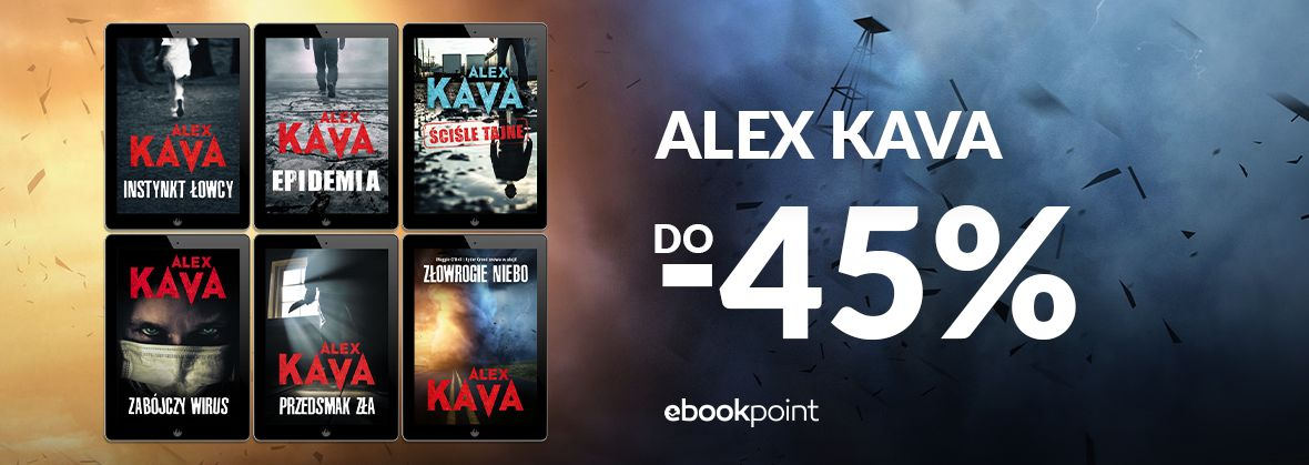 Promocja na ebooki Alex Kava / do -45%