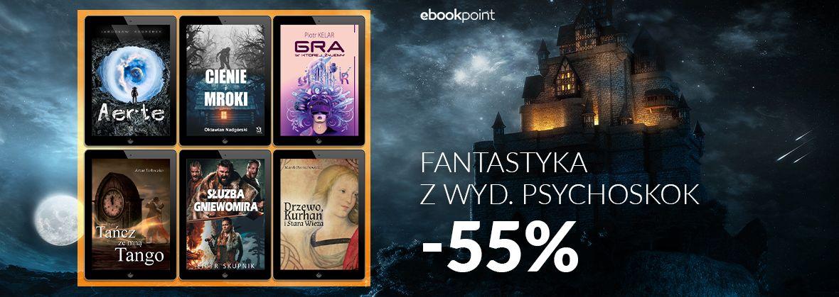 Promocja na ebooki Psychoskok [fantastyka -55%]