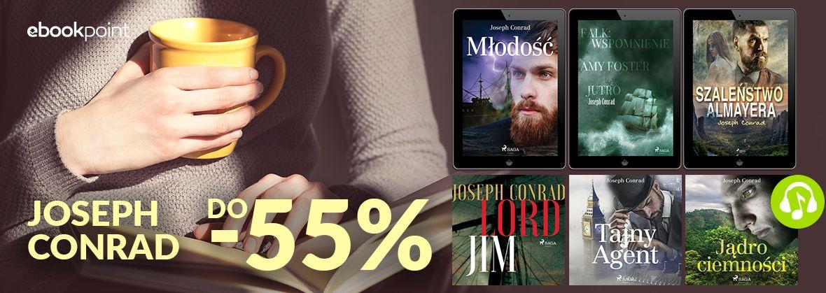 Promocja na ebooki Joseph Conrad / do -55%