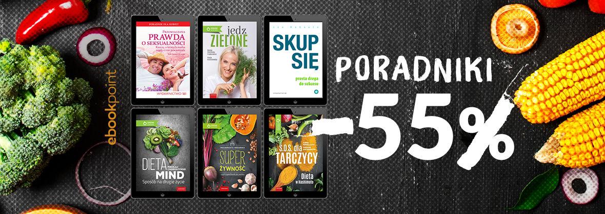 Promocja na ebooki Poradniki Wydawnictwa M / -55%