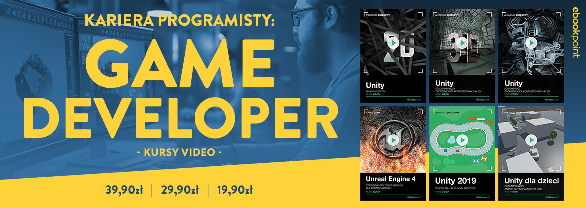 Promocja na ebooki Kariera programisty: Game Developer