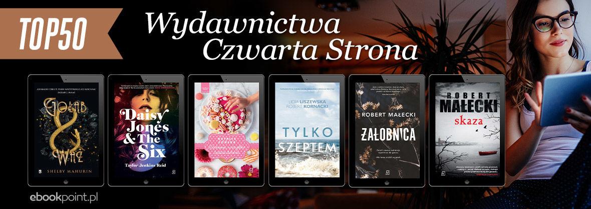 Promocja na ebooki TOP50 Wydawnictwa Czwarta Strona