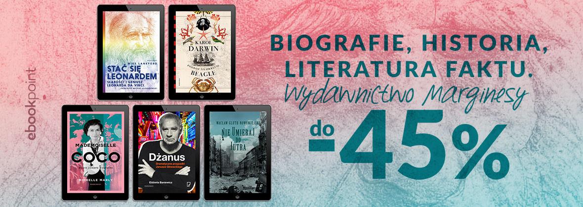 Promocja na ebooki Biografie, historia, literatura faktu / do -45%
