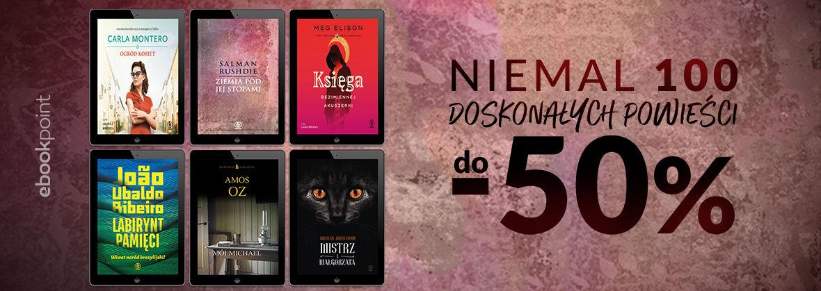 Promocja na ebooki Niemal 100 doskonałych powieści / do -50%