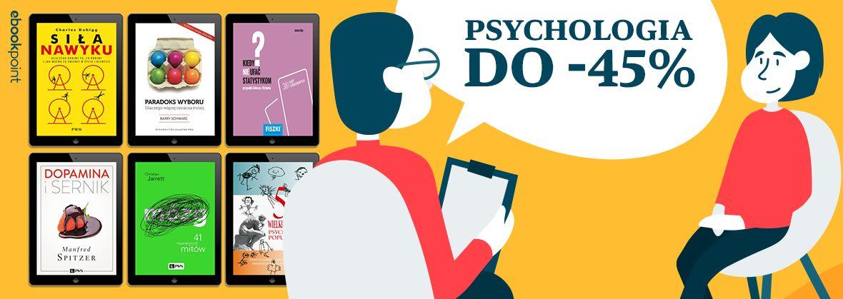 Promocja na ebooki PSYCHOLOGIA / do -45%
