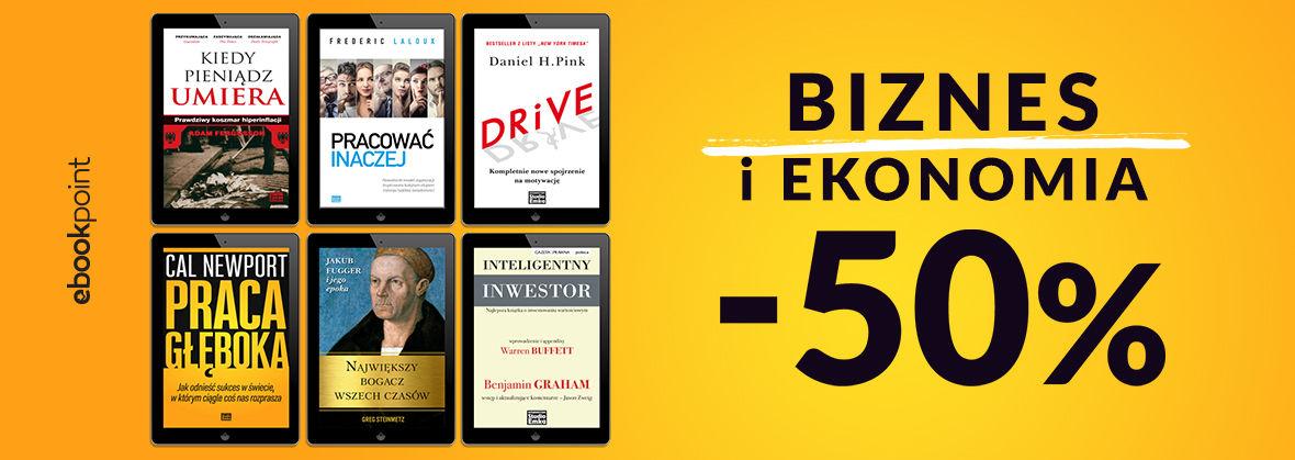 Promocja na ebooki Biznes i ekonomia [Studio Emka -50%]