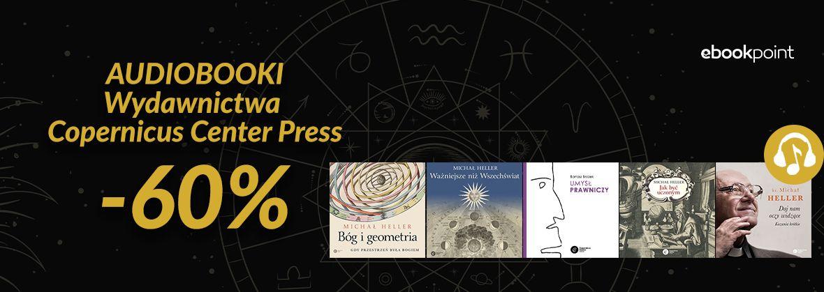 Promocja na ebooki Audiobooki Wydawnictwa Copernicus Center Press / -60%