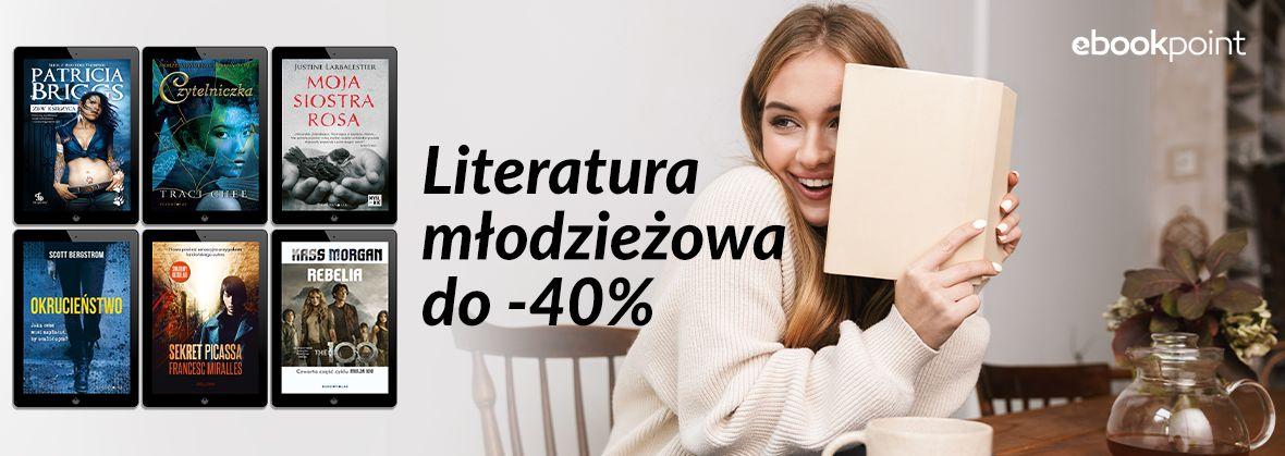 Promocja na ebooki Dla młodzieży [rabat do -40%]