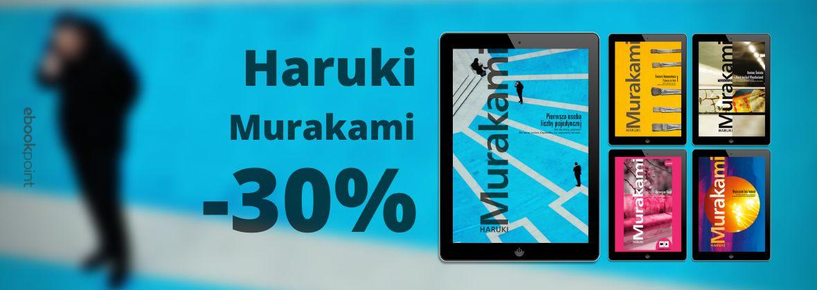 Promocja na ebooki HARUKI MURAKAMI / -30%