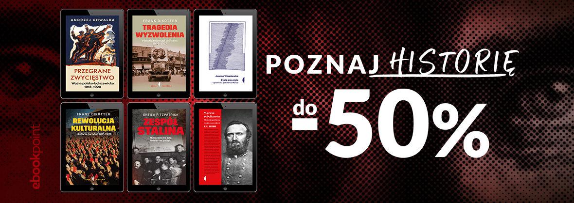 Promocja na ebooki Poznaj historię / do -50%