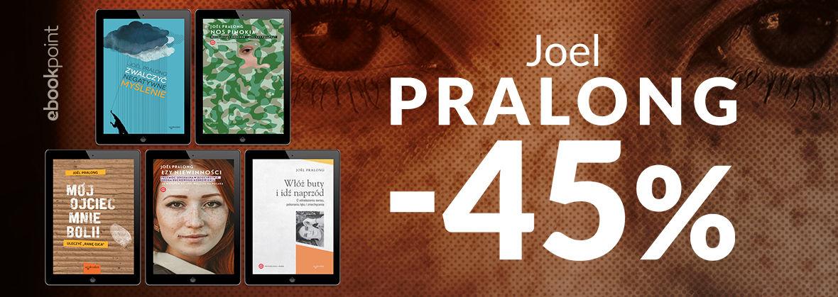 Promocja na ebooki JOEL PRALONG / -45%