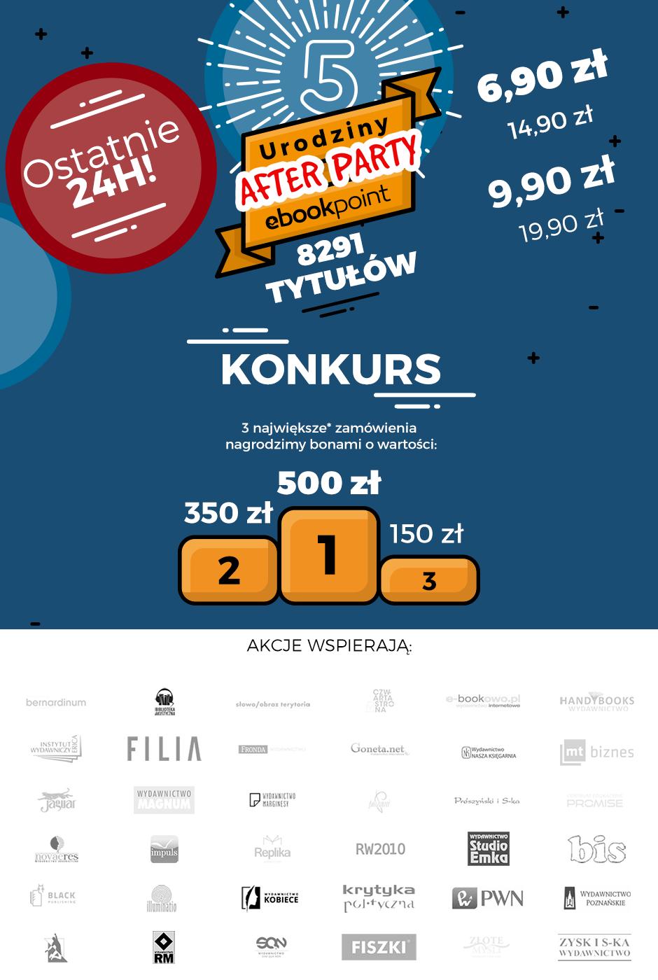 Piąte urodziny ebookpoint.pl after party