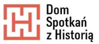 Logo - Dom Spotkań z Historią