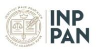 Logo - Instytut Nauk Prawnych PAN