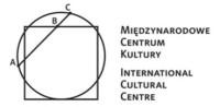 Logo - Międzynarodowe Centrum Kultury