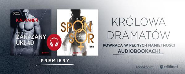 Premiery nowych audiobooków K.N.Haner