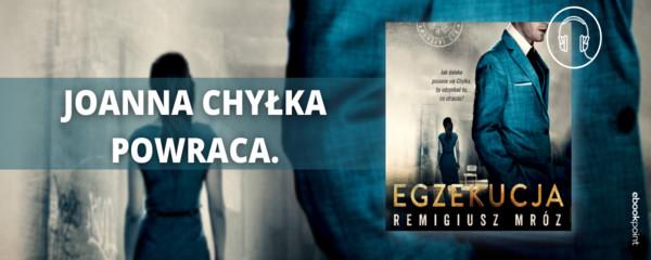 egzekucja joanna chyłka remigiusz mróz premiera audiobooks