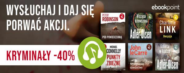 Audiobooki kryminały Sonia Draga