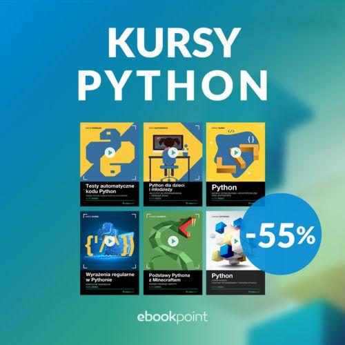 Kursy python [-50%]