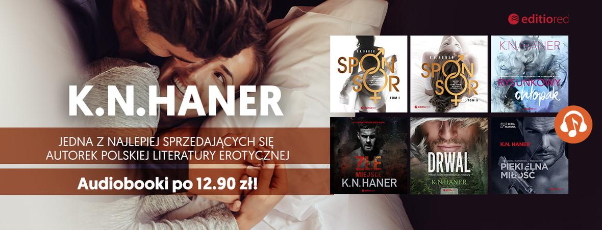 K.N.Haner ~ Wsłuchaj się w audiobooki