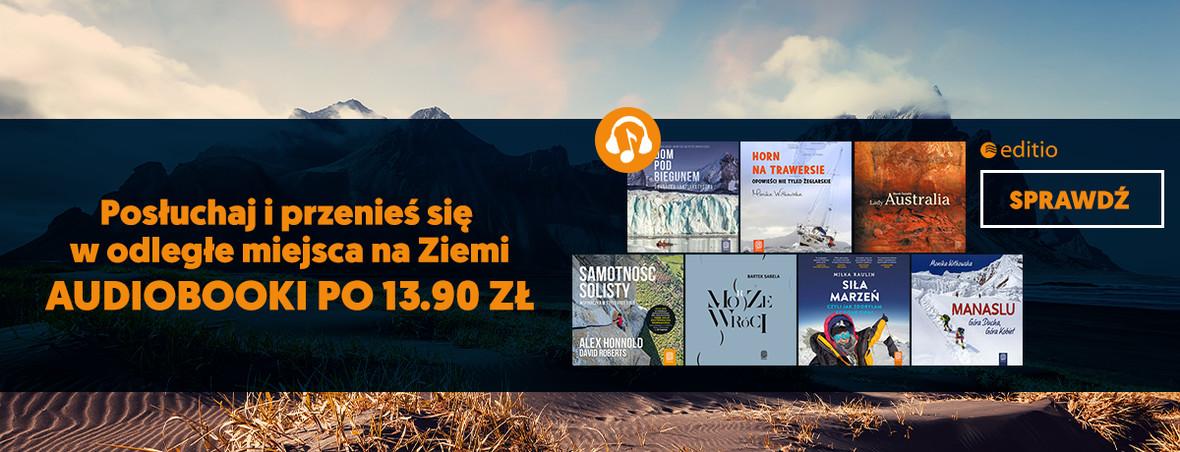 Audiobooki po 13.90 zł