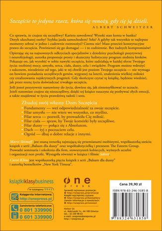 Tył okładki książki/ebooka Sekret szczęścia. 7 fundamentów życiowej radości