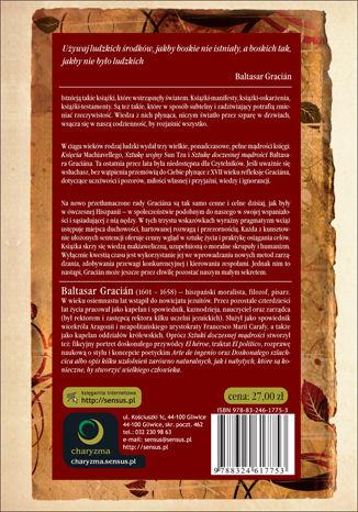 Tył okładki książki/ebooka Sztuka doczesnej mądrości