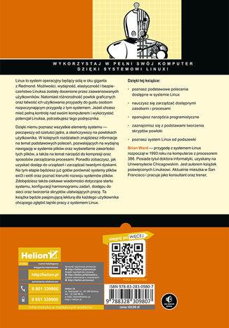 Tył okładki książki/ebooka Jak działa Linux. Podręcznik administratora. Wydanie II