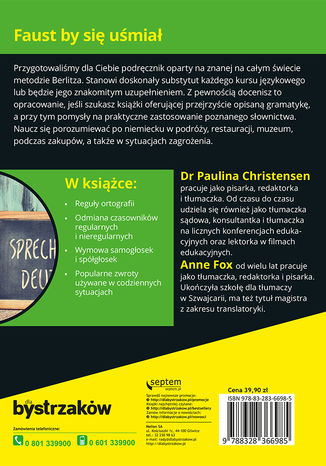 Okładka książki Niemiecki dla bystrzaków. Wydanie II