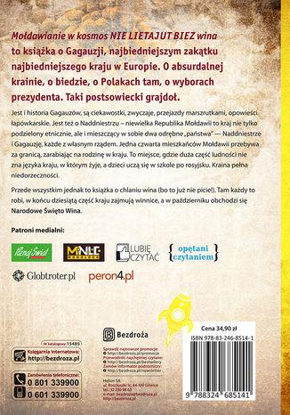 Tył okładki książki/ebooka Mołdawianie w kosmos nie lietajut biez wina