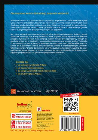 Tył okładki książki/ebooka Arduino dla zaawansowanych
