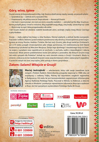 Okładka książki Klątwa gruzińskiego tortu