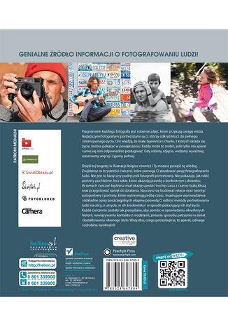Tył okładki książki/ebooka Fotografowanie ludzi. O tworzeniu prawdziwych portretów