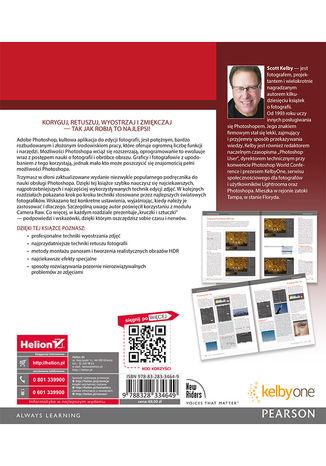 Tył okładki książki/ebooka Fotografia cyfrowa. Edycja zdjęć. Wydanie VIII