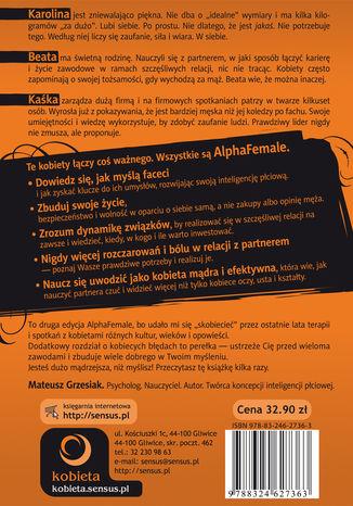 Okładka książki AlphaFemale. Wydanie II rozszerzone