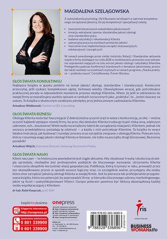 Okładka książki Od standaryzacji obsługi po rekomendację Klienta. Zarządzanie jakością obsługi Klienta w praktyce