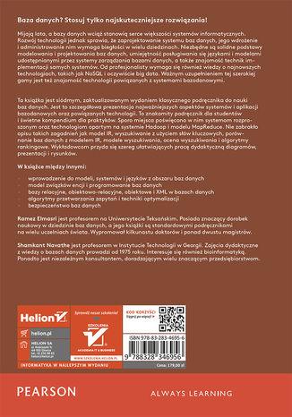 Tył okładki książki/ebooka Wprowadzenie do systemów baz danych. Wydanie VII