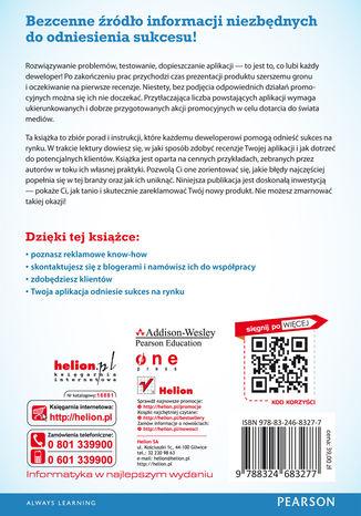 Tył okładki książki/ebooka Idealna reklama. Sztuka promowania aplikacji w internecie