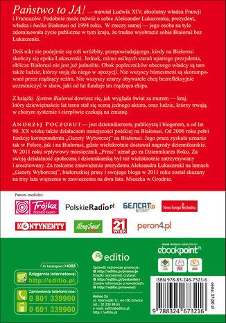 Okładka książki System Białoruś