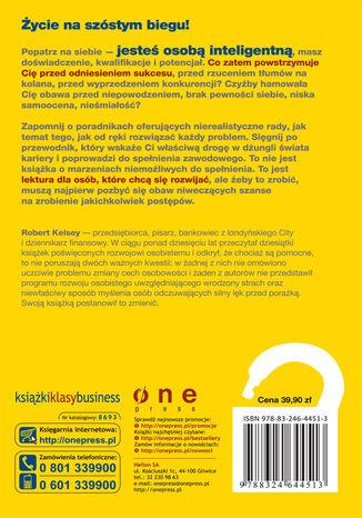Tył okładki książki/ebooka Co Cię blokuje? Uwolnij swój potencjał