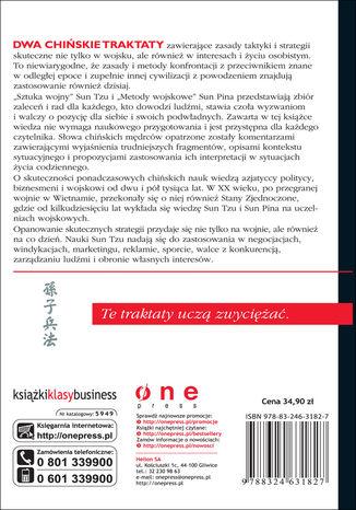 Tył okładki książki/ebooka Sztuka Wojny. Wydanie II
