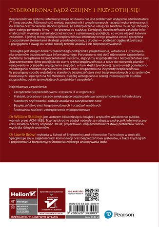 Tył okładki książki/ebooka Bezpieczeństwo systemów informatycznych. Zasady i praktyka. Wydanie IV. Tom 2