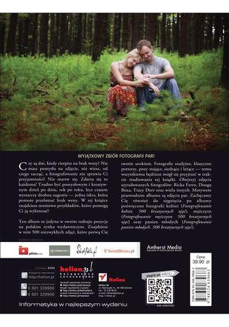 Tył okładki książki/ebooka Fotografowanie par. 500 kreatywnych ujęć