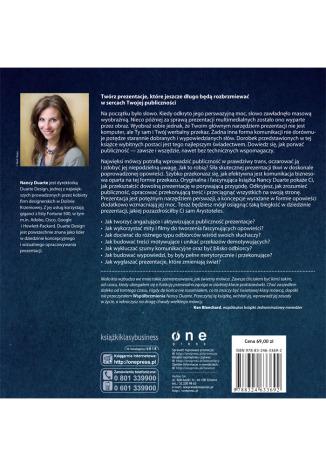 Tył okładki książki/ebooka Współbrzmienie. Znajdź wspólny język z odbiorcami Twojej prezentacji