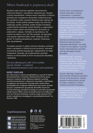 Okładka książki Skuteczne techniki idealnego sprzedawcy. Mistrzowskie domykanie transakcji w każdym miejscu i czasie